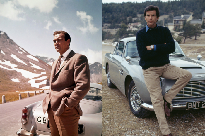 The Iconic Aston Martin DB5 Has Been Featured in 8 James Bond Movies
