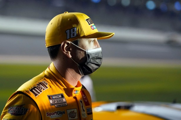 Kyle Busch Doesn't Think the Moon Landing Happened in 1969