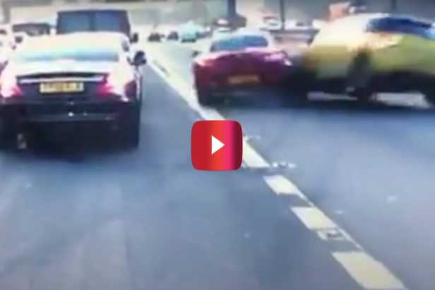 Impatient BMW Driver Causes Wild Accident After Pulling Into Traffic