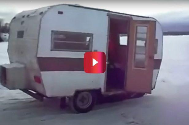This Skidoo Camper Is the Perfect Way to Take on the Outdoors, Canada Style