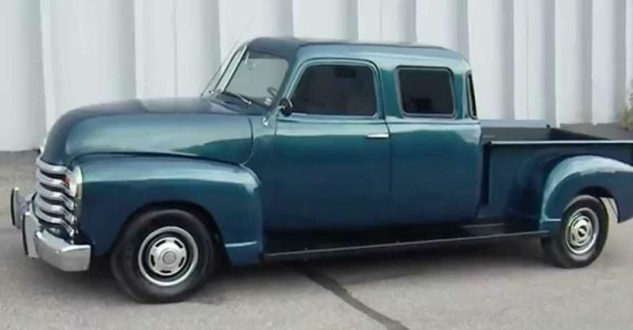 Fresh or Fail? Check out This Custom-Built Double Cab 1950s Chevy Pickup