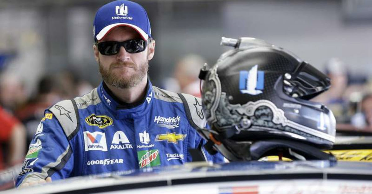 Dale Jr. Will Still Race Next Weekend, Despite Serious Bruising Caused by Plane Crash