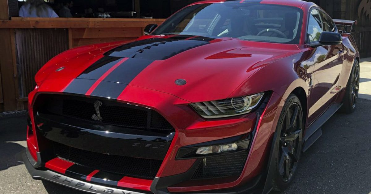 2020 Ford Shelby GT500 Packing 760 HP Will Be Most Powerful Street-Legal Mustang Ever