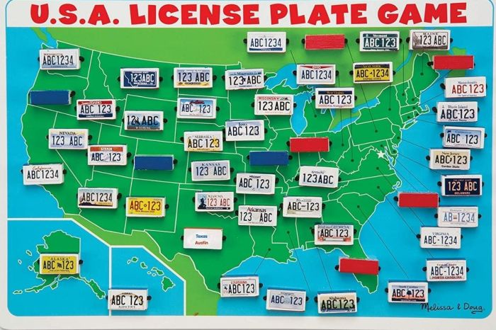 This License Plate Game Is the Perfect Way to Combat Road Trip Boredom