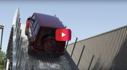 Beast Mode! Watch a Mercedes G-Class Climb up an 100% Incline