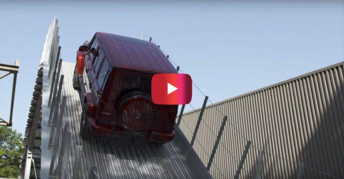 Beast Mode! Watch a Mercedes G-Class Climb up an 100% Incline