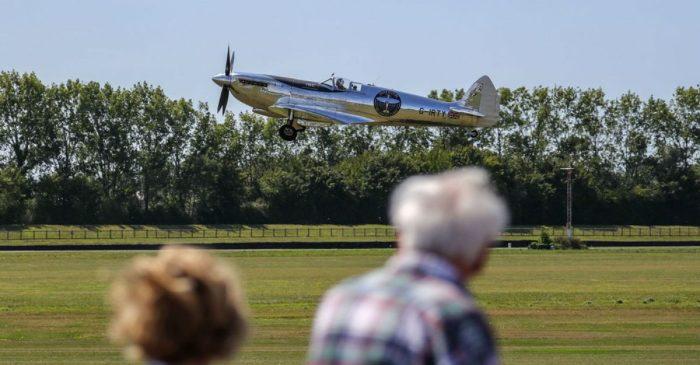 Restored WWII Spitfire Begins 27,000-Mile Trip Around the World