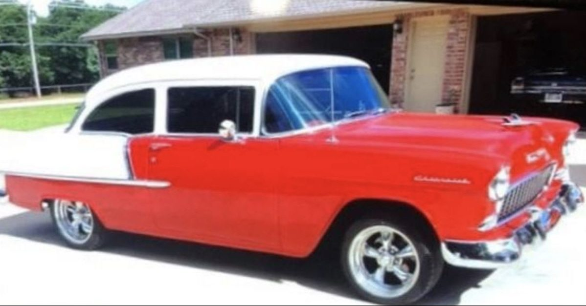 This Beautiful 1955 Chevy Was Jacked by an Oklahoma Car Thief