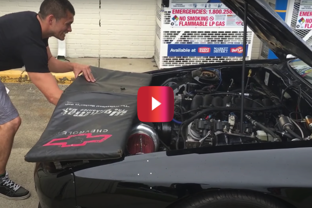 Guy Shows Why Not to Remove Radiator Cap While the Engine Is Hot