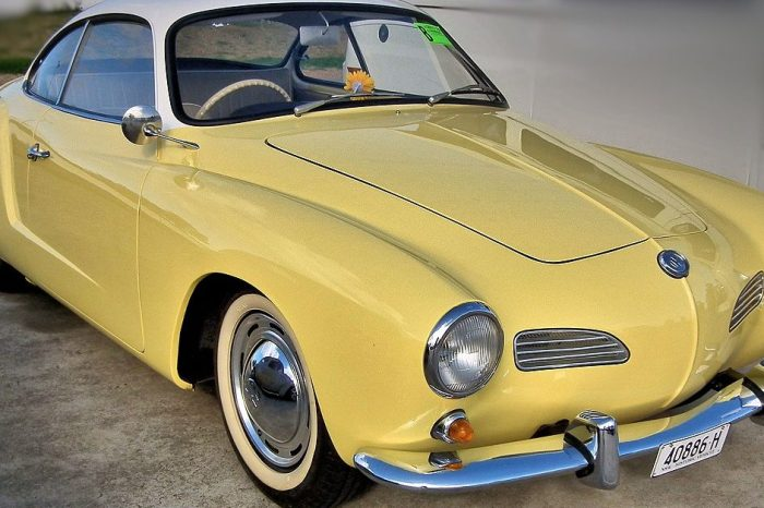 The Volkswagen Karmann Ghia: A Brief History of the Ultimate Auto Collaboration