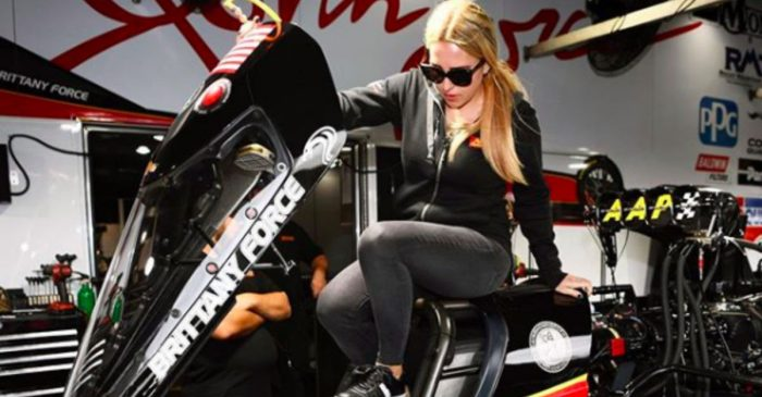 Brittany Force Breaks NHRA National Top Fuel Time Record
