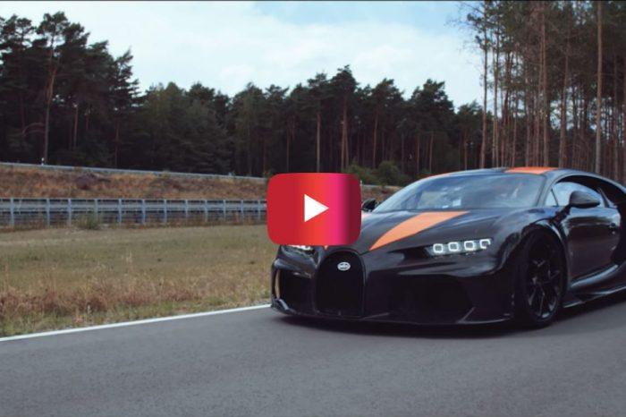 Bugatti Chiron Hits 304 MPH in Record-Setting Run