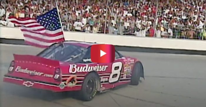 Dale Jr. Winning the First Race After 9/11 Was an Emotional NASCAR Moment