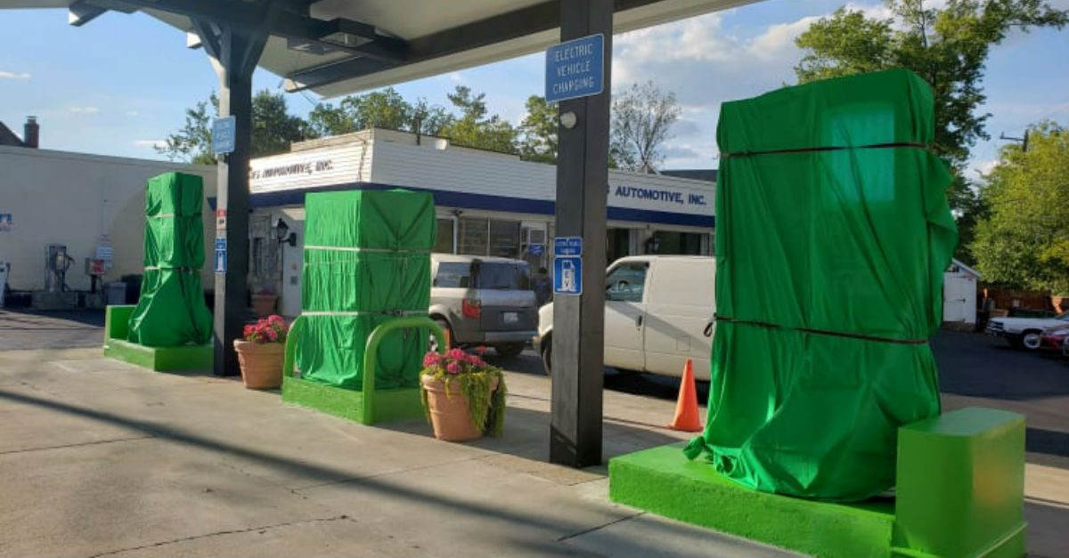 maryland gas to electric station
