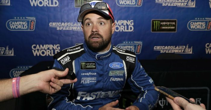 Ricky Stenhouse Jr. Is Getting Replaced at Roush Fenway Racing