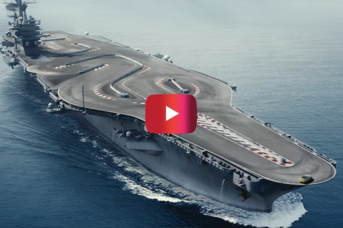 "BMW M4 Drifts on the ""Ultimate Racetrack"""