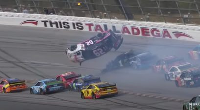 Brendan Gaughan crash