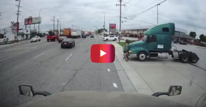 Illinois Cyclist's Life Flashes Before His Eyes as Truck T-Bones Him