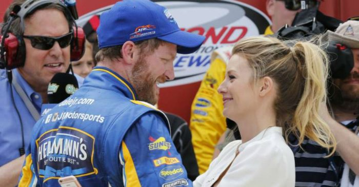 Amy Earnhardt Surprised Dale Jr. With Incredible Portrait of His Dad