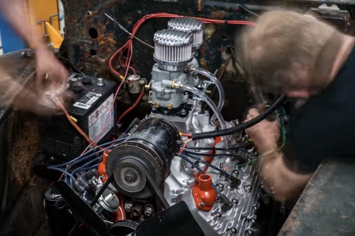 ford flathead v8 rebuild