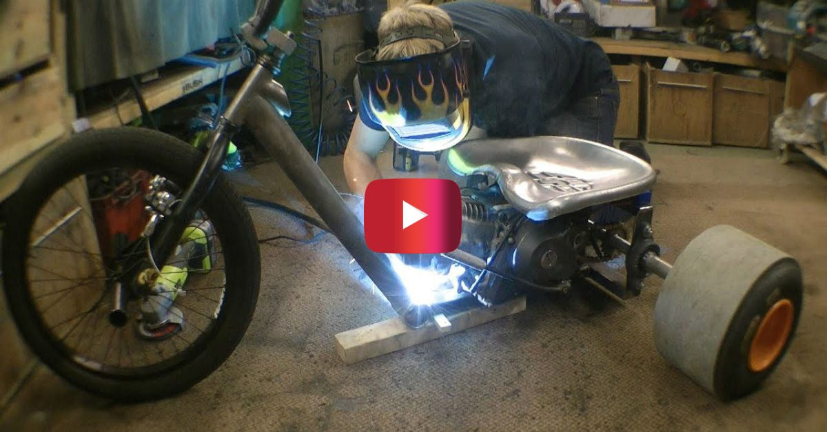 This Motorized Drift Trike Is An Awesome Diy Invention Engaging Car News Reviews And Content You Need To See Alt Driver