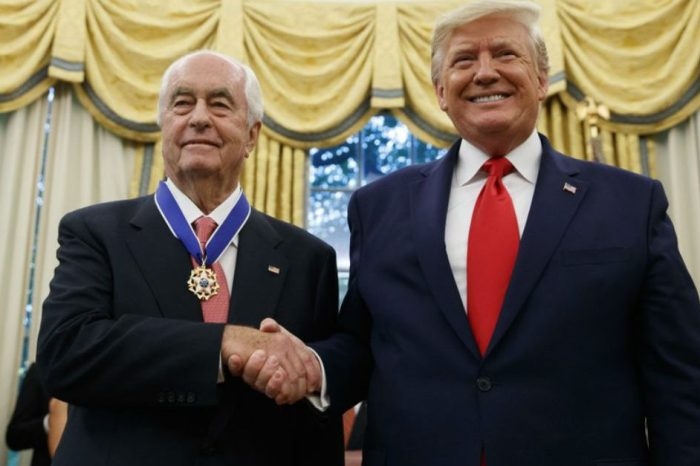 Roger Penske, Auto Racing Legend, Receives Presidential Medal of Freedom