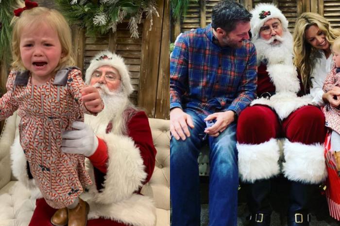 Isla Rose Earnhardt Is NOT a Fan of Santa Claus