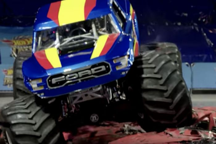 How a Custom-Built Ford Pickup Became the First Monster Truck