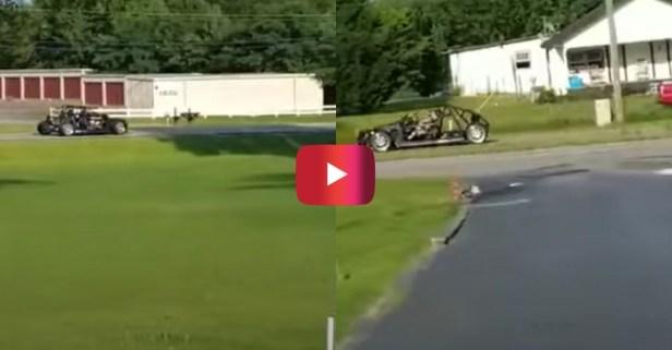 Gearhead Turns BMW Into Street-Legal Go-Kart