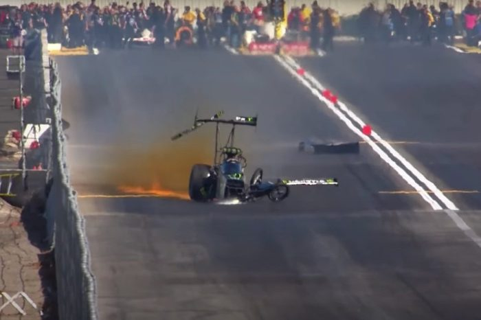 Remembering Brittany Force's Scary Crash at Pomona
