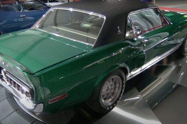 """This '68 Shelby Mustang, a.k.a. """"The Green Hornet,"""" Has an Incredible Restoration History"""