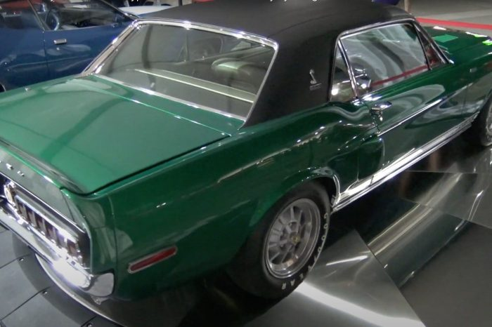 "This '68 Shelby Mustang, a.k.a. ""The Green Hornet,"" Has an Incredible Restoration History"