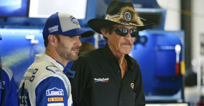 Jimmie Johnson to Honor Dale Earnhardt, Richard Petty With Darlington Throwback Scheme