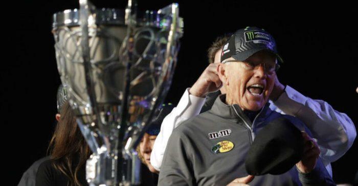 Joe Gibbs Wins 5th NASCAR Championship in Season Dedicated to Late Son