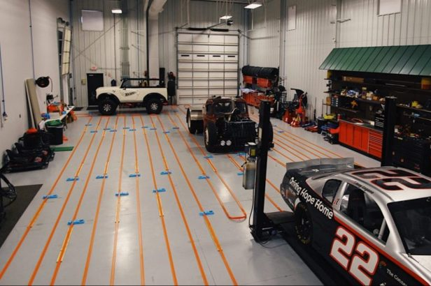 Joey Logano Set the World Record for Longest Hot Wheels Track