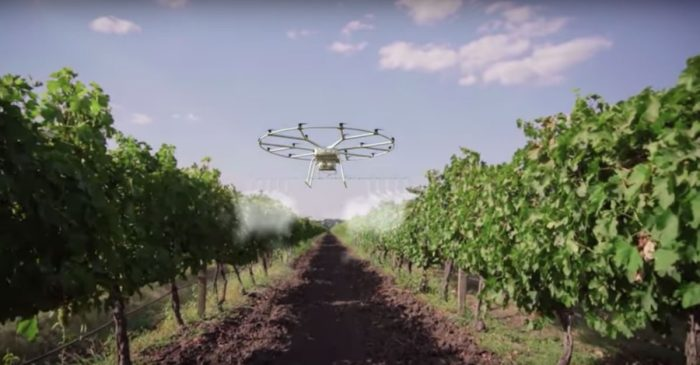 John Deere Goes Beyond Tractors With Cropdusting Drone Project