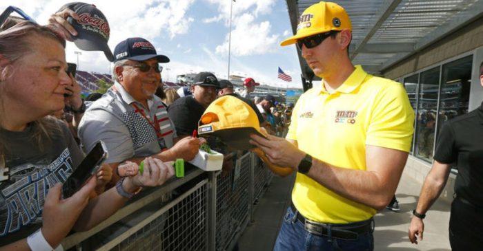 Kyle Busch Won $1,000 off Three NASCAR Title Contenders