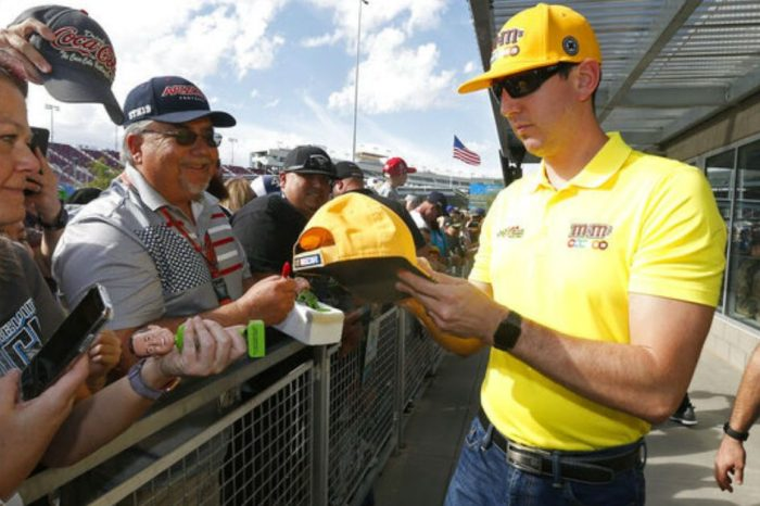 Kyle Busch Won $1,000 off Three NASCAR Title Contenders