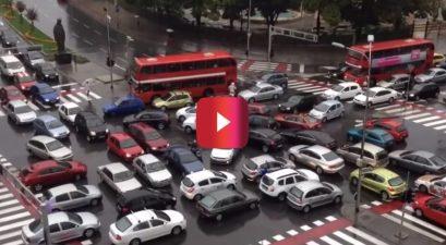 macedonia traffic jam