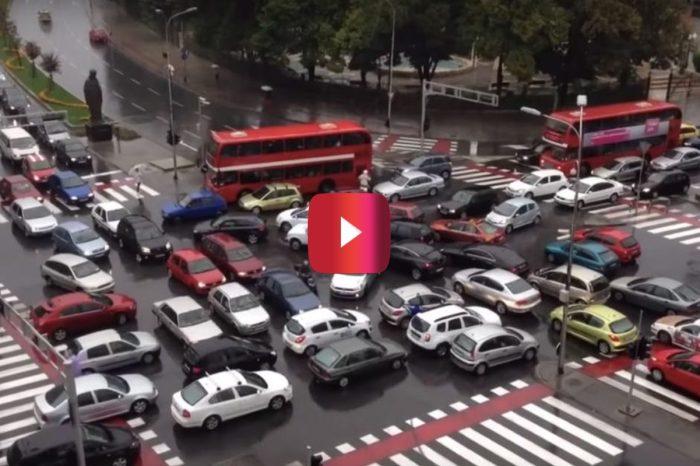 This Traffic Jam Looks Like a Black Friday Nightmare