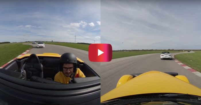 Plymouth Prowler Speeds Around Track in Review Video