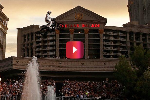 Travis Pastrana Recreated 3 Legendary Evel Knievel Stunts, and the Crowd Went Wild