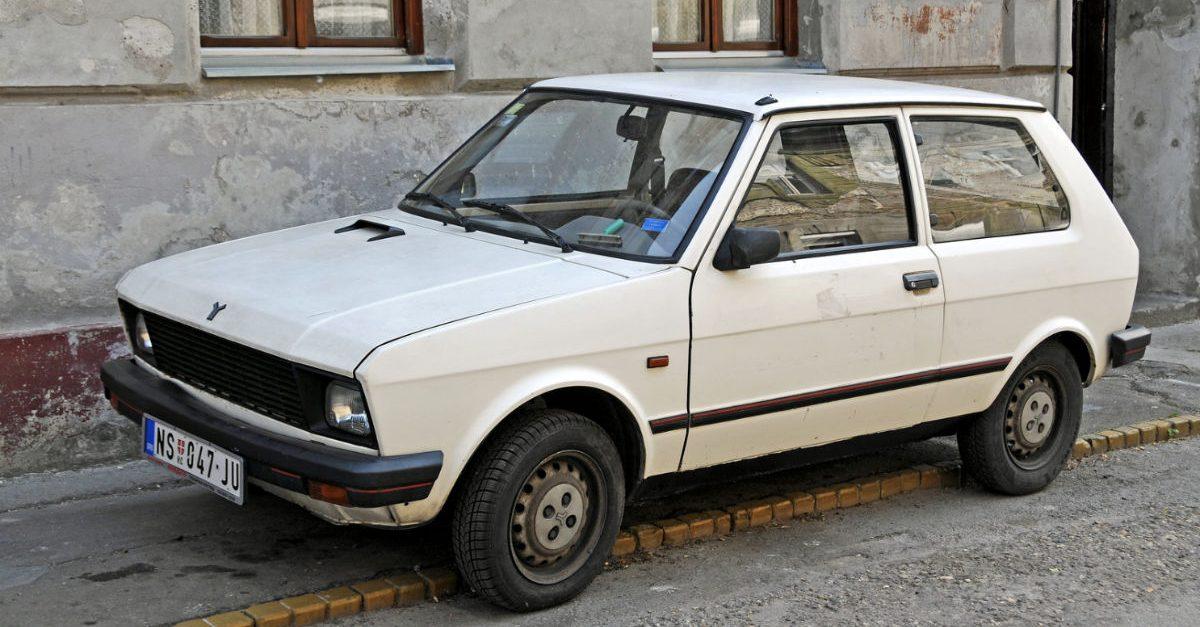 the yugo car