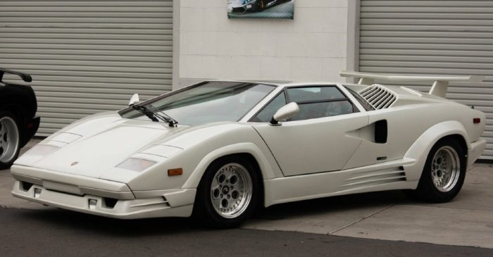 Lamborghini Countach, Ferrari 308 Uncovered After Years in Storage