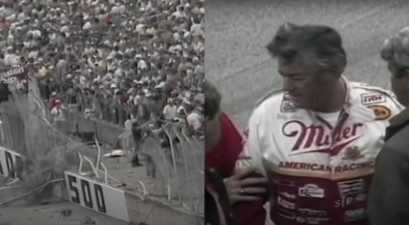 bobby allison wreck at 1987 winston 500