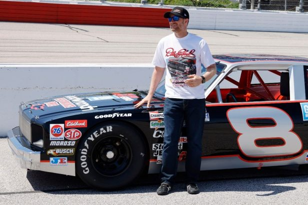 Dale Earnhardt Jr. Reveals Never-Before-Seen Childhood Photo of Him and His Dad