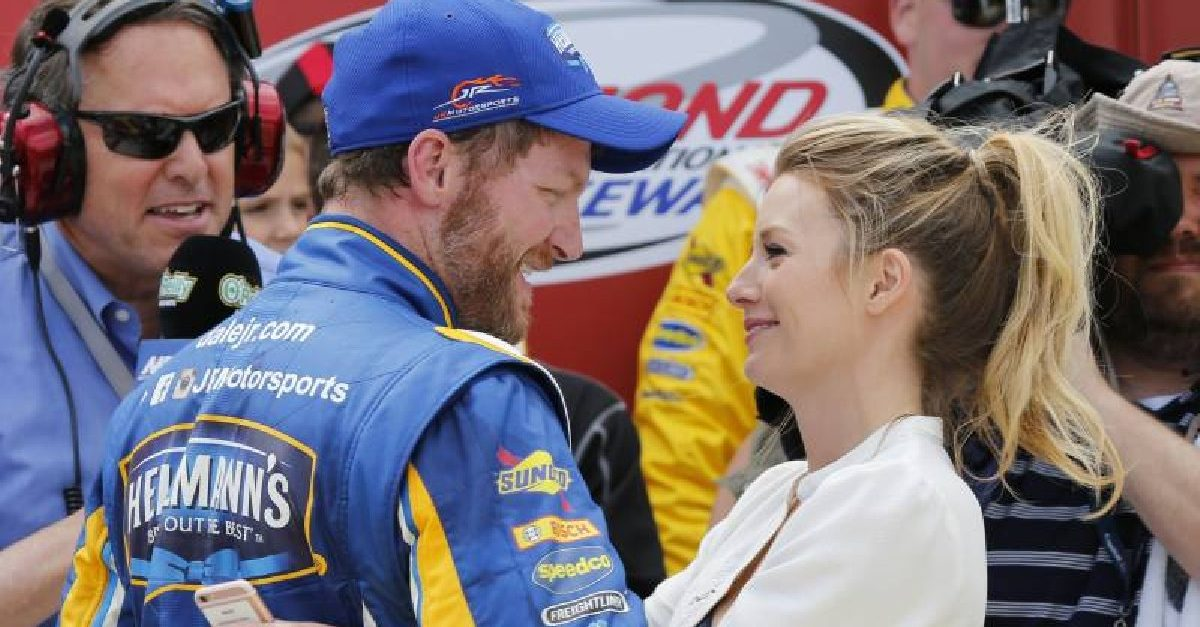 dale earnhardt jr. amy earnhardt