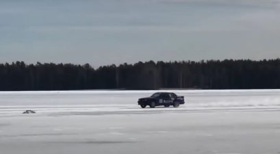fastest car on ice