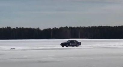 fastest car on ice