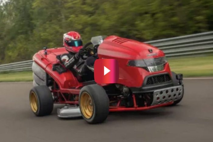 Honda Mower Breaks World Record, Going 0-100 MPH in Under 7 Seconds